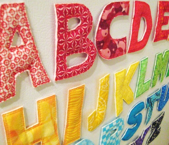 magnetic alphabet custom With custom magnetic letters