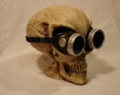 Steampunk Welding Goggles - the basics in silver