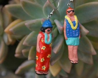 Earrings Handmade Accidental Tourist