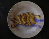 Hawksbill Sea Turtle Plate