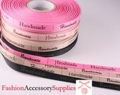 Handmade Label Fabric Tape Ribbon 4Colors 10mmX55mm-8yd(2yd of each color) (C190-A)