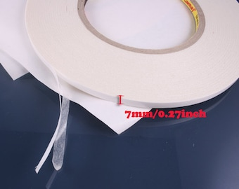 1pcs-55YD-7mm Double Sided Tape,acide free For scrapbooking,headband,ribbon,etc (D316-7mm)