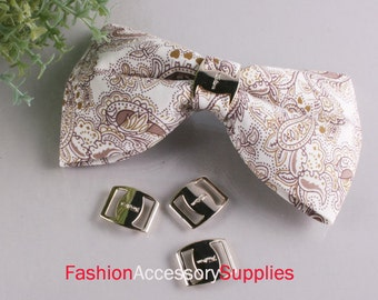 40pcs-10mm Gold Buckles for Art deco,Accessory,Clothing and More..3Size (A156)