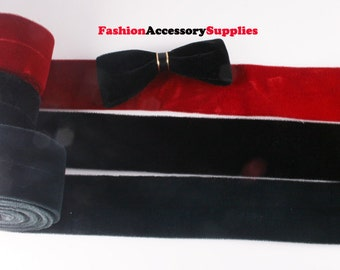 1YD-50mm Velvet Ribbon Tape made of Specially Formulated Fabric,thin,soft but hold the shape -Choose Color(B238)