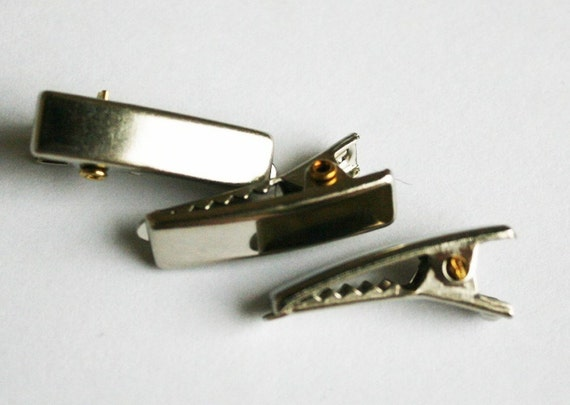 25PCS-20mm Small Alligator Hair Clips with Teeth(C110)