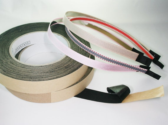 1 Roll 20mm(0.79'')  28Yard Headband Finished  End Fabric TAPE TIP(D317)