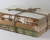 Stack of Vintage Books with Twine - Home Decor Accent