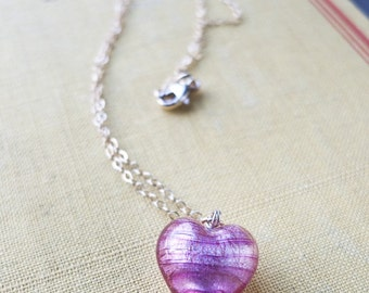 LONELY HEART... 14k gold-filled necklace