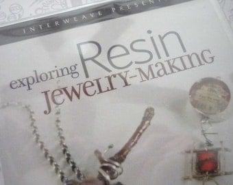 Exploring Resin Jewelry Making DVD with Susan Lenart Kazmer, Running Time - 1 Hour