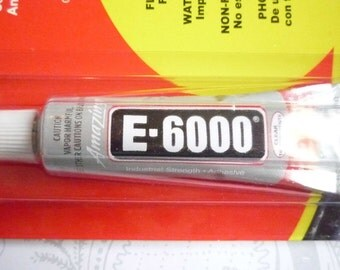 E-6000 Multi-Purpose Adhesive Glue Mini Size .5 Ounce Tube