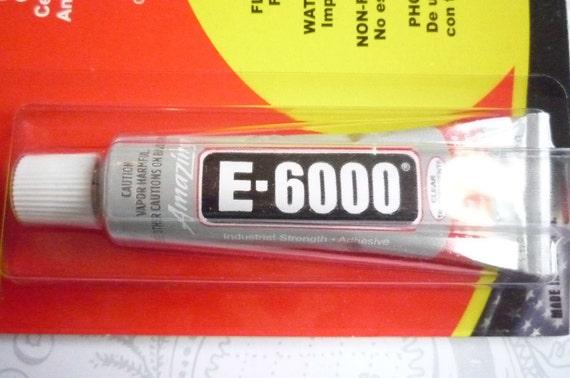 E-6000 Multi-Purpose Adhesive Glue Mini Size .5 Ounce Tube