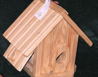 Pine Birdhouse  BUILT TO ORDER