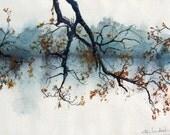 River Mist - 8 x 10 Art Print