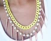 Neon Pearls & Spikes