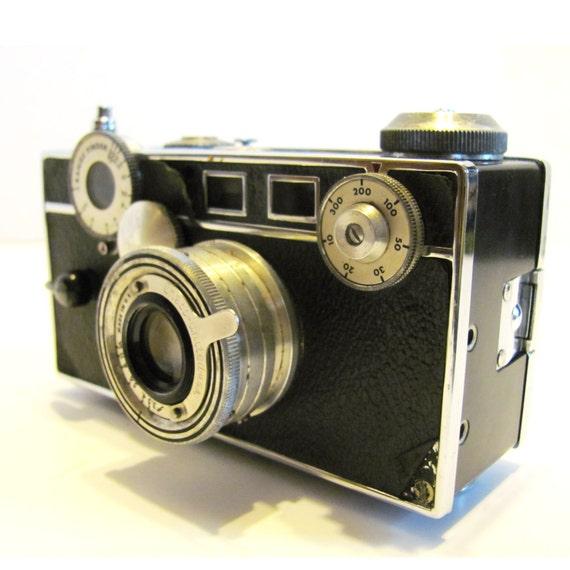 vintage 35mm argus camera. Black Bedroom Furniture Sets. Home Design Ideas