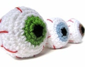 CUSTOM ORDER for Lipton Teatime- 4 Eye Turners - Eyeball Doorknob Cover