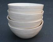 Set of cereal bowls