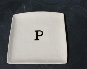 Monogram Large Platter
