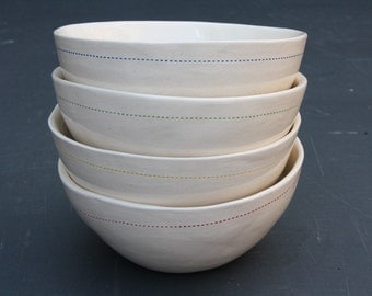 Set of cereal bowls
