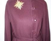 Vintage Gemini Stunning Wool Cape Size M/L