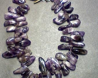 Purple Love Necklace