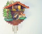 small whimiscal vintage cuckoo clock