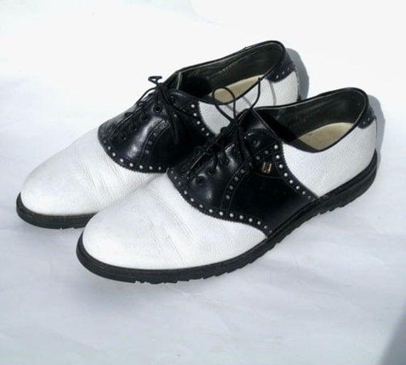 Used Mens Saddle Shoes