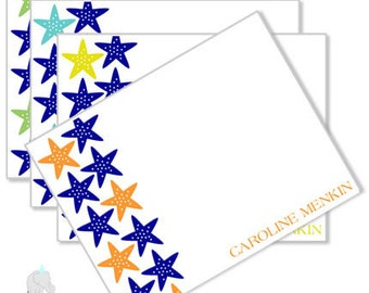 Starfish Stationery Set
