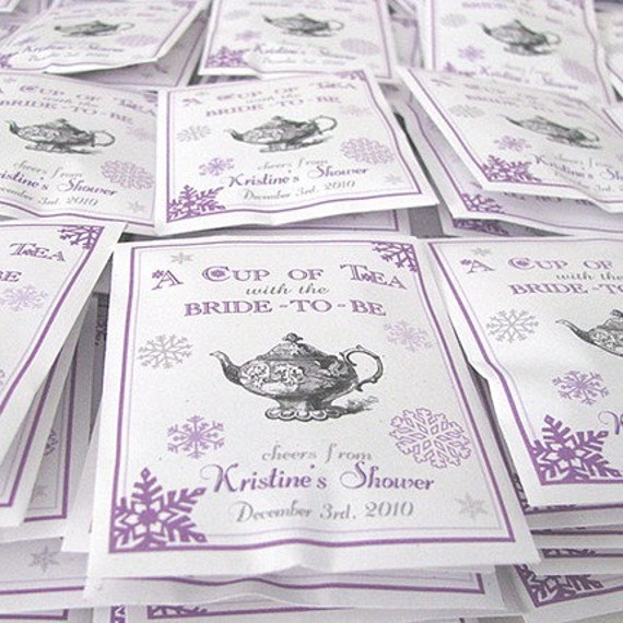 Winter Snowflake Par-Tea Favors™