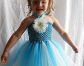 Blue Ivory Tutu Dress