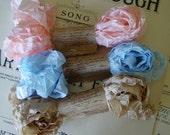 Shabby Wrinkled Alice seam binding ribbon bundle, 15 yards