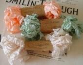 Shabby Wrinkled Corissa ribbon bundle, 15 yards