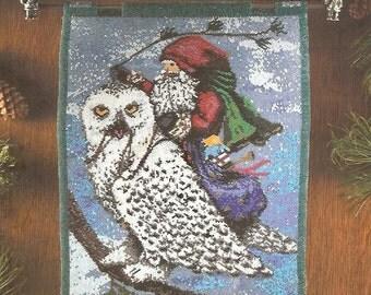 Beaded Tapestry Pattern Book Enchanted Santas ST. NICK And OWL Susan Brack