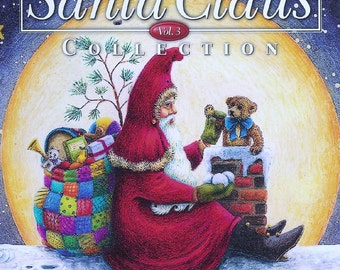 SANTA CLAUS COLLECTION Vol. 3 Better Homes And Gardens Book Susan Brack Holiday Christmas