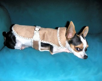Ecological Ram coat for Chihuahua or small dogs Puppy coat Chihuahua clothing Gift for pets
