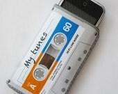 Grey Cassette Tape iPhone Case