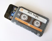 iPhone Case Mix Cassette Tape - Fits iPod Touch, HTC, Smartphones and more