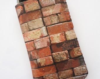 iPhone 7 Case, iPhone 6/6S Case, iPhone 5/5S/5C Case - Brick Wall - Soft Felt iPhone 6 Sleeve