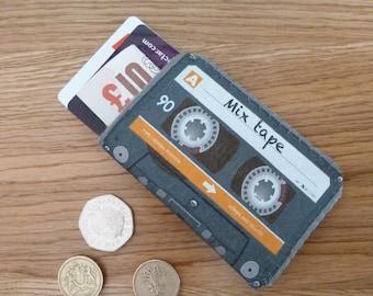 Business Card Case-Business Card Holder-Credit Card Case-Credit Card Holder-Oyster Card Holder-Debit Card Case-Mix Cassette Tape