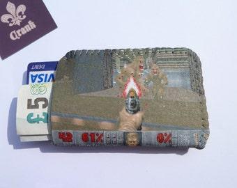 Doom Game Credit Card Holder Business Card Holder Wallet