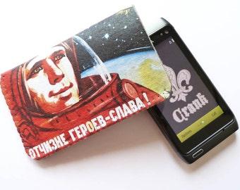 Gagarin Propaganda Poster iPhone Case