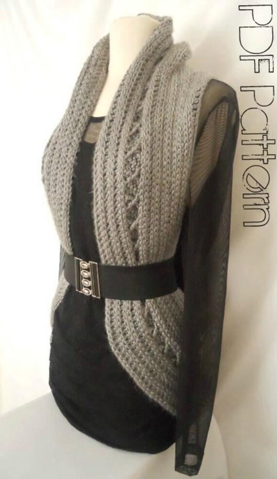 Instant Download Pattern Crochet Vest Pattern Circular by ...