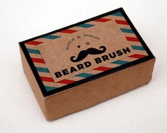 The Original Beard and Mustache Brush