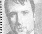 Hand Drawn Custom Portrait From Your Photos