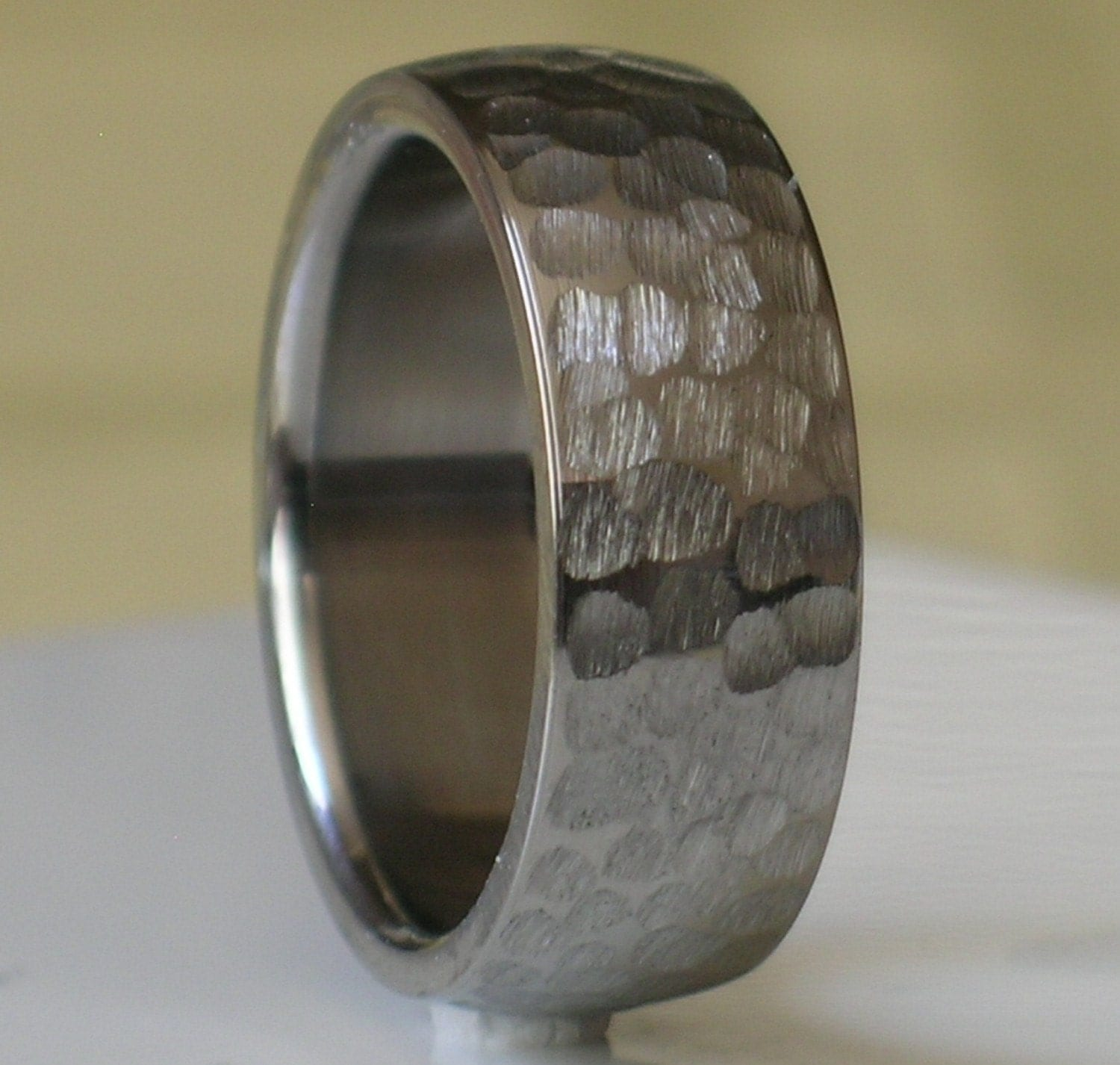 Tungsten Wedding Band Comfort Fit Custom Designed By Usajewelry