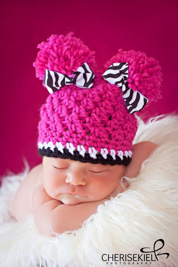 MADE to ORDER - Size 3-6M  -- Pom Pom Princess in Fresh and Funky -- Also available in Baby to Adult sizes