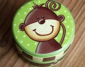 Monkey Trinket Box