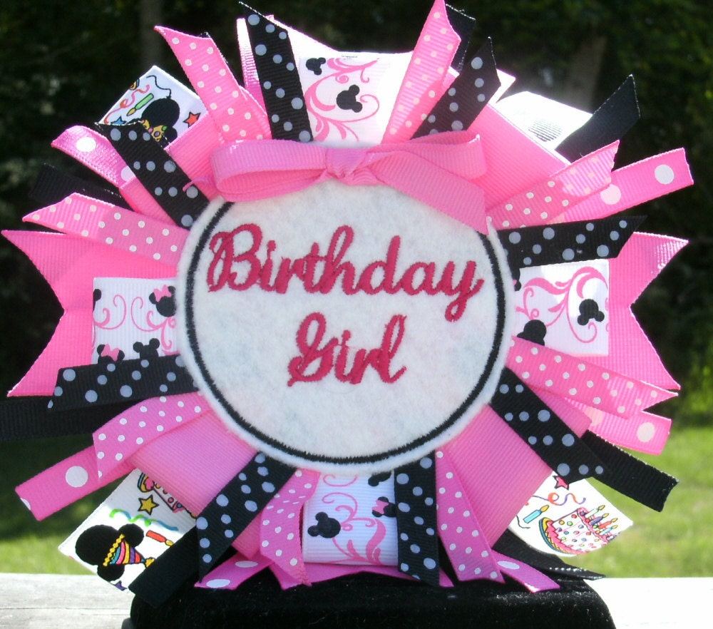 Birthday Blow Out Sale Birthday Girl Pin Back Badge
