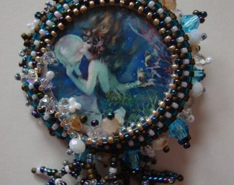 Mermaid Glam Pin