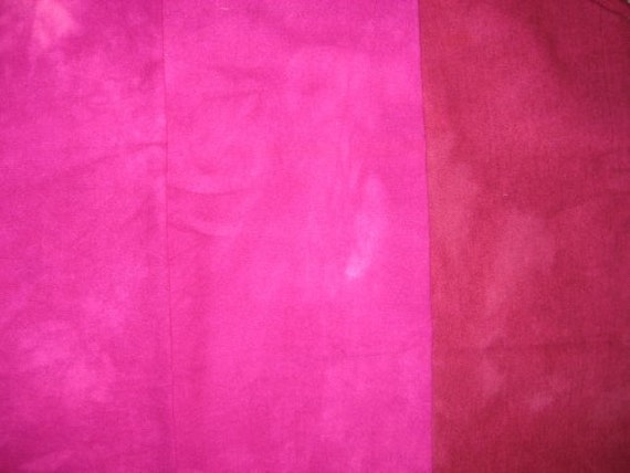 100 Percent Raw Silk Hand Dyed Fabric, Muted Colors